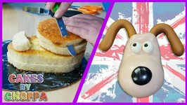 Gromit Cake (How To) - Wallace And Gromit