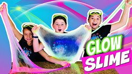 How to Make Slime that GLOWS IN THE DARK