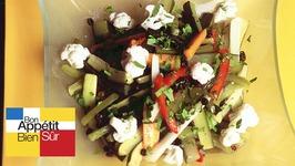 Légumes marinés à la coriandre