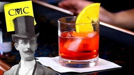 Easy Gin Drink The Negroni-Classic Campari Cocktail