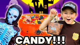 Trick Or Treat! Worst Halloween Ever! Who Stole The Halloween Candy? Smalls & Ryan Solve The Mystery