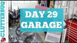 Day 29 - Garage - 30 Day Decluttering Challenge