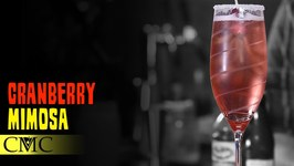 How To Make The Cranberry Mimosa Cocktail