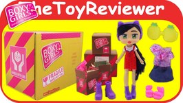 Boxy Girls Riley Mystery Box Fashion Pack Huge Haul Unboxing Toy Review