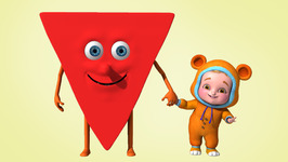Shape Triangle  Colors and Shapes  Children Learning Songs and Original Songs for Kids