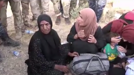 Families Evacuated From Town Near Tal Afar Amid Intense Fighting