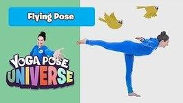 Flying Pose - Yoga Pose Universe