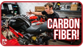 Once you go black - Wrecked Bike Rebuild - Ep 07 - Ducati Monster