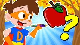 Help Find Drews Apples - Drew VS Jack Frost - Fun Kids Games