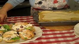 Creamy Chicken Pot Pie And Cruncy Chicken Salad On Croissants