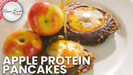 Best Tasting Pancakes In The World - Apple Protein Pancakes 25 Grams Protein