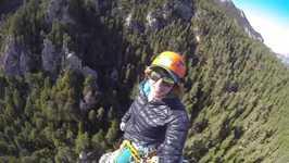 Daring Climber Takes Extreme Selfie Atop Monolithe de Sardières