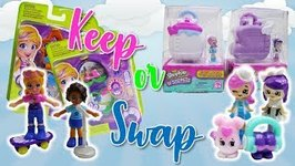 Keep or Swap Would you rather game - Polly Pocket vs Shopkins Lil' Secrets  EP 3