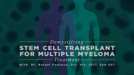 Demystifying Stem Cell Transplant for Multiple Myeloma Treatment