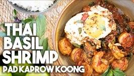 Thai Basil Shrimp