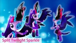 Midnight Sparkle Split Pony Doll - Twilight Sparkle Equestria Girls Minis Doll