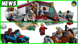 Jurassic Park and Incredibles 2 LEGO Set Images - Brick Show News