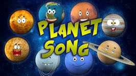 Planet Song - Solar System Song - Kids Tv Nursery Rhymes For Children -  Learning Videos For Kids