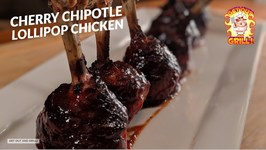 Cherry Chipotle Chicken Lollipop Recipe On The Weber Kettle