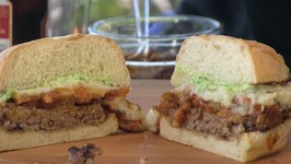 British Pub Burger / Cottage Pie Burger