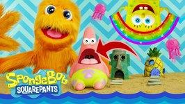 Patrick and Spongebob Squarepants Racing Cars Playset Super Toys Opening for Kids