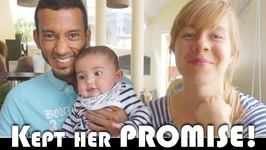 SHE KEPT HER PROMISE - FAMILY VLOGGERS DAILY VLOG