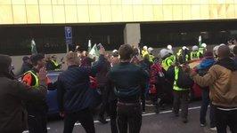 Scuffles Break Out at Gothenburg Neo-Nazi March