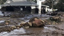 Fire Department Footage Shows Damage Caused by Deadly Montecito Floods and Mudslides