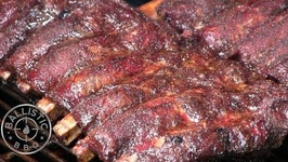 BBQ Beef Ribs / How To Smoke Beef Ribs (Texas Cut)