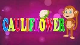 Cauliflower - Vegetable Song- Original Learning Song for Kids