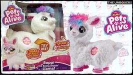 Boppi the Booty Shakin' Llama  Zuru Pets Alive