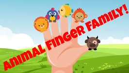 Animal Sounds Finger Family Song