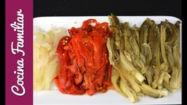 Como hacer escalivada, recetas para dieta  Recetas de Javier Romero
