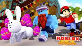 HUNTING THE EATER BUNNY WITH LITTLE ROPO!! Sharky Gaming - Roblox