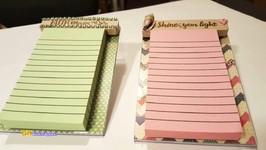 Sticky Note Holder Using Dollar Tree Frame  Office Gift Idea