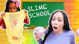 Silly Kids Make a Big Mess at Slime School !! - New Toy School