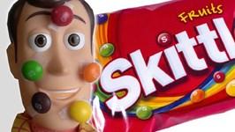 Toy Story 4 Skittles Taste Rainbow Commercial Parody - Woody