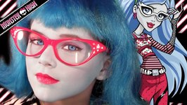 Ghoulia Yelps Monster High Doll Halloween Costume Makeup