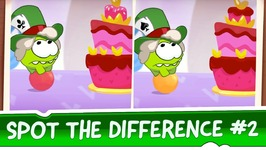 Spot the Difference Ep 2 - Om Nom Stories - Mad Tea Party