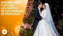 Le mariage de Miranda Kerr, digne d'un conte de fées