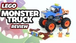 2018 Lego City Monster Truck Review Set 60180