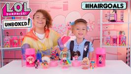 LOL Surprise! Unboxed! Season 4 Ep 8: Hairgoals Makeover Series