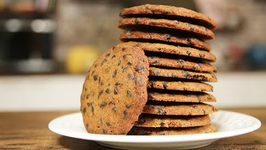 How To Make Chocolate Chip Biscuit - Easy Biscuit - Nick Saraf's Foodlog