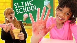 Slime School Teacher vs Slime Students Classroom Sneak FAIL - New Toy School