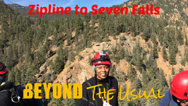 Zipline Through A Canyon To Seven Falls