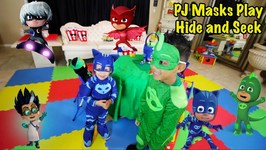 PJ MASKS PLAY HIDE AND SEEK