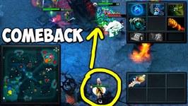 Ahjit Medusa Comeback Game Dota 2