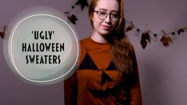 Get spooky with our haunted Halloween sweater tutorial