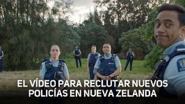 La policía neozelandesa conquista la red con este viral