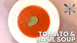 Tomato And Basil Soup / Basics Recipe / Budget Recipe